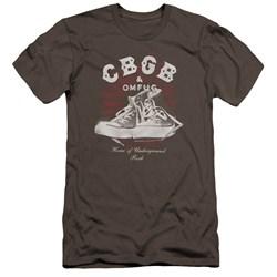 Cbgb - Mens High Tops Premium Slim Fit T-Shirt