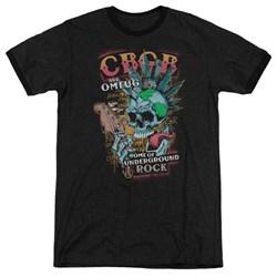 Cbgb - Mens City Mowhawk Ringer T-Shirt