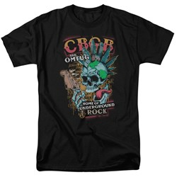 Cbgb - Mens City Mowhawk T-Shirt