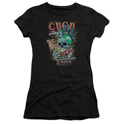 Cbgb - Juniors City Mowhawk T-Shirt