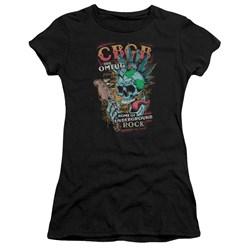 Cbgb - Juniors City Mowhawk Premium Bella T-Shirt