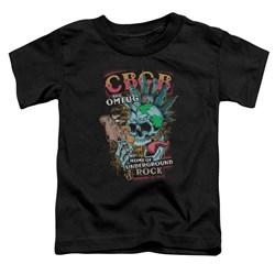 Cbgb - Toddlers City Mowhawk T-Shirt