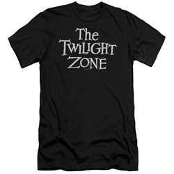 Twilight Zone - Mens Logo Premium Slim Fit T-Shirt