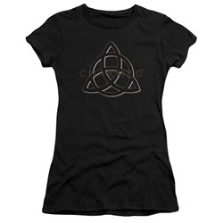 Charmed - Juniors Triple Linked Logo Premium Bella T-Shirt