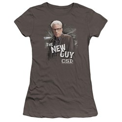 Csi - Juniors The New Guy Premium Bella T-Shirt