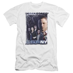 Csi Ny - Mens Watchful Eye Premium Slim Fit T-Shirt