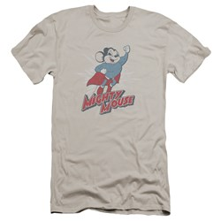 Mighty Mouse - Mens Mighty Blast Off Premium Slim Fit T-Shirt