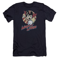 Mighty Mouse - Mens The One The Only Premium Slim Fit T-Shirt