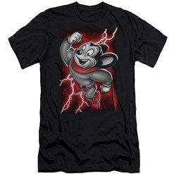 Mighty Mouse - Mens Mighty Storm Premium Slim Fit T-Shirt