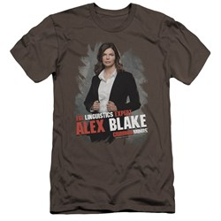 Criminal Minds - Mens Alex Blake Premium Slim Fit T-Shirt