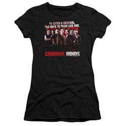 Criminal Minds - Juniors Think Like One Premium Bella T-Shirt