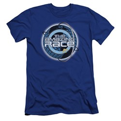 Amazing Race - Mens Around The Globe Premium Slim Fit T-Shirt