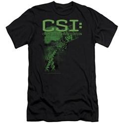 Csi - Mens Evidence Premium Slim Fit T-Shirt