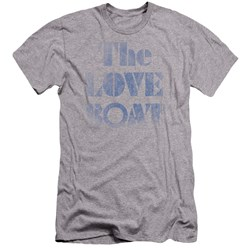 Love Boat - Mens Distressed Premium Slim Fit T-Shirt