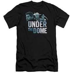 Under The Dome - Mens Character Art Premium Slim Fit T-Shirt