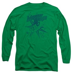 Mighty Mouse - Mens Mighty Mouse Long Sleeve T-Shirt