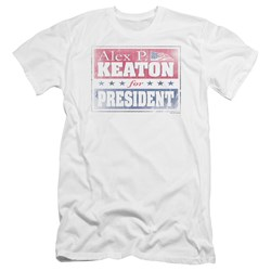Family Ties - Mens Alex For President Premium Slim Fit T-Shirt