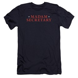 Madam Secretary - Mens Logo Premium Slim Fit T-Shirt