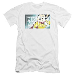 Mighty Mouse - Mens Mighty Rectangle Premium Slim Fit T-Shirt
