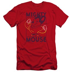 Mighy Mouse - Mens Break The Box Premium Slim Fit T-Shirt