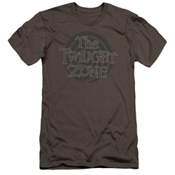 Twilight Zone - Mens Spiral Logo Premium Slim Fit T-Shirt
