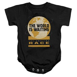 Amazing Race - Toddler Waiting World Onesie
