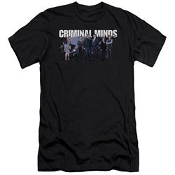 Criminal Minds - Mens Season 10 Cast Premium Slim Fit T-Shirt