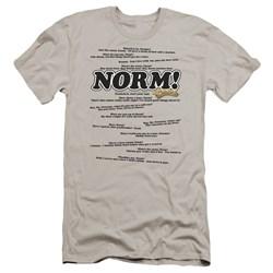 Cheers - Mens Normisms Premium Slim Fit T-Shirt