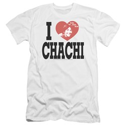 Happy Days - Mens I Heart Chachi Premium Slim Fit T-Shirt