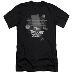 Twilight Zone - Mens Monologue Premium Slim Fit T-Shirt
