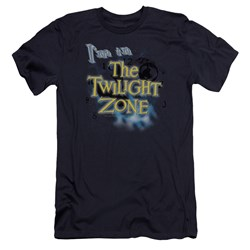 Twilight Zone - Mens Im In The Twilight Zone Premium Slim Fit T-Shirt