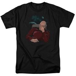 Star Trek - Mens Facepalm T-Shirt