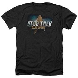 Star Trek Discovery - Mens Discovery Logo Heather T-Shirt