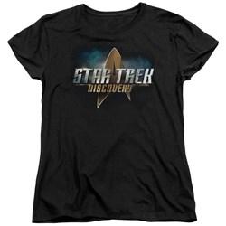 Star Trek Discovery - Womens Discovery Logo T-Shirt
