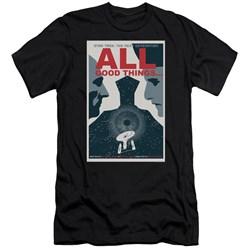 Star Trek - Mens Tng Season 7 Episode 25 Slim Fit T-Shirt