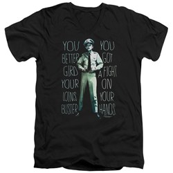 Andy Griffith Show - Mens Fight V-Neck T-Shirt