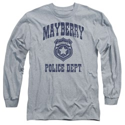 Andy Griffith Show - Mens Mayberry Police Long Sleeve T-Shirt
