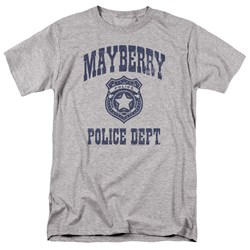 Andy Griffith Show - Mens Mayberry Police T-Shirt