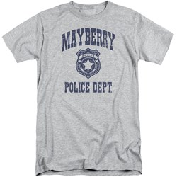 Andy Griffith Show - Mens Mayberry Police Tall T-Shirt
