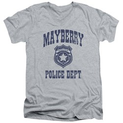 Andy Griffith Show - Mens Mayberry Police V-Neck T-Shirt