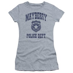 Andy Griffith Show - Juniors Mayberry Police T-Shirt