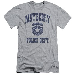 Andy Griffith Show - Mens Mayberry Police Slim Fit T-Shirt