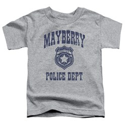 Andy Griffith Show - Toddlers Mayberry Police T-Shirt