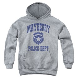 Andy Griffith Show - Youth Mayberry Police Pullover Hoodie