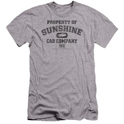 Taxi - Mens Property Of Sunshine Cab Premium Slim Fit T-Shirt