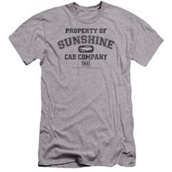 Taxi - Mens Property Of Sunshine Cab Premium Slim Fit T-Shirt