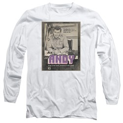 Andy Griffith Show - Mens Andy Long Sleeve T-Shirt