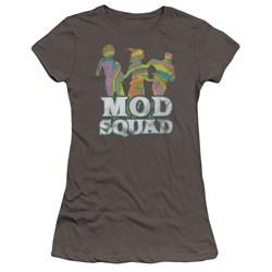 Mod Squad - Juniors Mod Squad Run Groovy Premium Bella T-Shirt