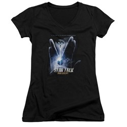 Star Trek Discovery - Juniors Discovery Begins V-Neck T-Shirt