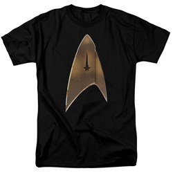 Star Trek Discovery - Mens Command Shield T-Shirt